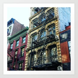 NYC Soho-Series 1  Art Print