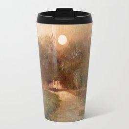 Impressionist Landscape Oil Painting Travel Mug