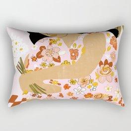 Bohemian Lady Rectangular Pillow