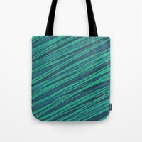 rocks Tote Bags featuring rocks by spinL