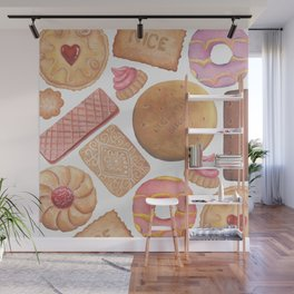 Biscuit Selection Wall Mural