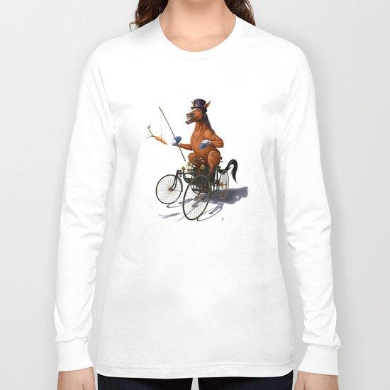 Horse Power (Wordless) Long Sleeve T-shirt