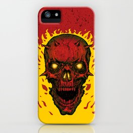 High on Fire iPhone Case