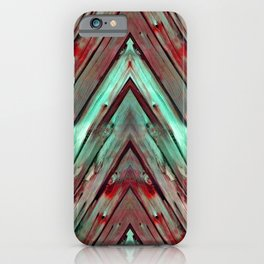 Knotty Plank Texture 1 iPhone Case