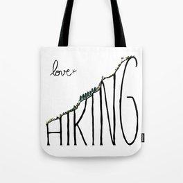 Love Hiking Tote Bag