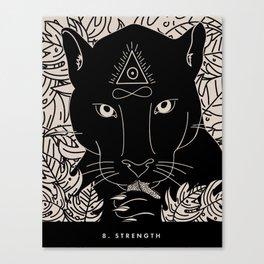8. STRENGTH Canvas Print