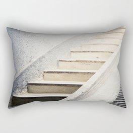 Hospital Stairwell: Sachsenhausen Concentration Camp, Oranienburg, Germany Rectangular Pillow