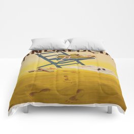 Vintage poster - Andalucia, Spain Comforters