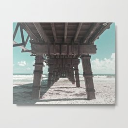 Boardwalk Blues Metal Print