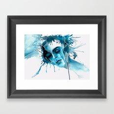 When I feel you Framed Art Print