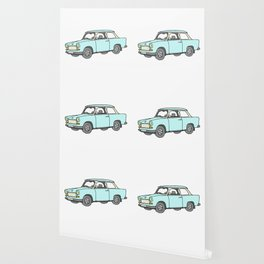 Trabant or Trabi. Car of GDR Wallpaper