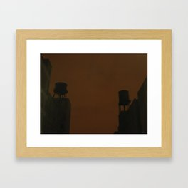 Two Tanks Framed Art Print