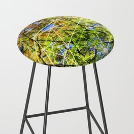 GeoBotanica V2 Bar Stool