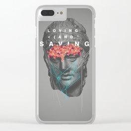 Loving & Saving Clear iPhone Case