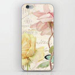 Florabella IV iPhone Skin