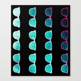 NEO GLASSES Canvas Print