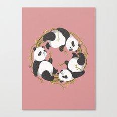 Panda dreams Canvas Print