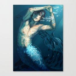 FREE! Haru Merman Canvas Print