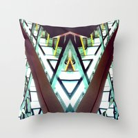 architect Throw Pillows featuring Architect  by Rob Hayes