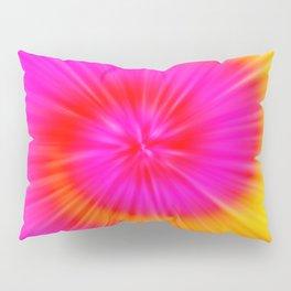 TIE DYE #1 (Fuchsias-Magentas, Reds, Oranges & Yellows) Pillow Sham