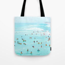 Hot Summer Day #painting #illustration Tote Bag