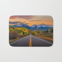 The Road To Telluride Bath Mat