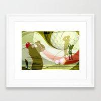 golf Framed Art Prints featuring Golf by Robin Curtiss