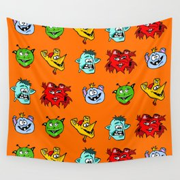 Monsters Wall Tapestry