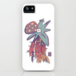 Octopus - Aquatic life iPhone Case