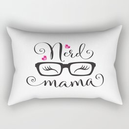 NerdMama Rectangular Pillow