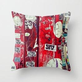 Urban Graffiti 768 Throw Pillow