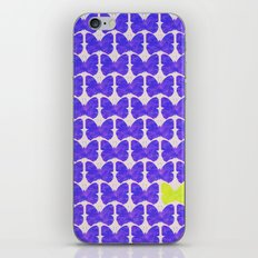 One of a kind (purple) iPhone & iPod Skin