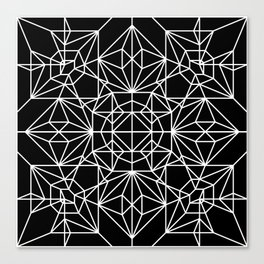 Robot Pattern Canvas Print
