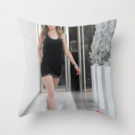 tHe Mixte Throw Pillow