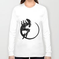 xenomorph Long Sleeve T-shirts featuring Xenomorph by Philipe Kling