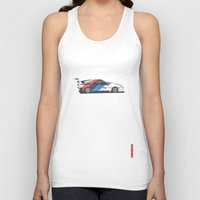 bmw Tank Tops featuring BMW M1 by Remove Before . . .
