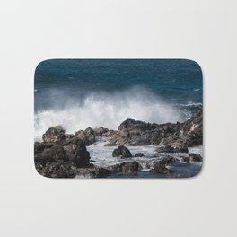 Lava Rock Ocean Spray Bath Mat