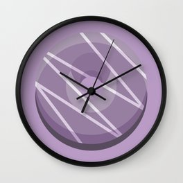1DONUT - Crocus Petal Wall Clock