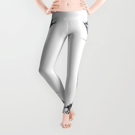 Beautiful roots drawing stylised Leggings