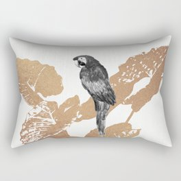 Fluttering Nature II Rectangular Pillow