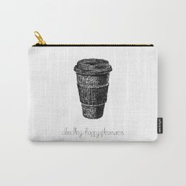 Coffee Doodle Carry-All Pouch