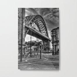 Newcastle bridge Metal Print