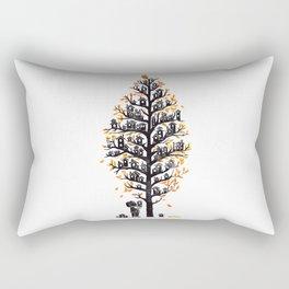 Hoot Lodge Rectangular Pillow