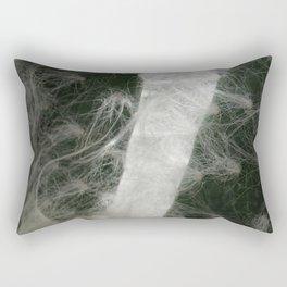 Cotton Cactus in a Close up Rectangular Pillow