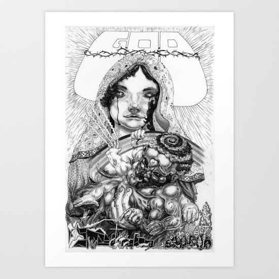 The One True God Art Print