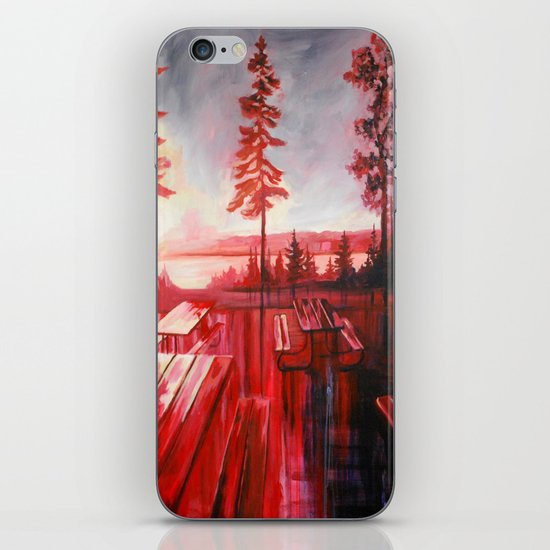 Night After Night  iPhone & iPod Skin