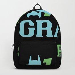 1st grade superhero Backpack