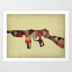 Catharsis Suicide Art Print
