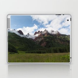 Mountains in Fog Laptop & iPad Skin
