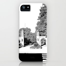 bloomington III iPhone Case